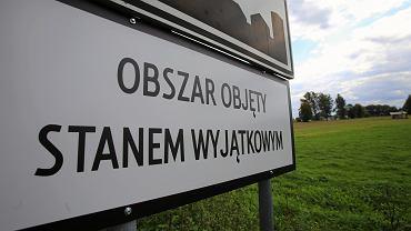 Stan wyjątkowy na granicy polsko-białoruskiej
