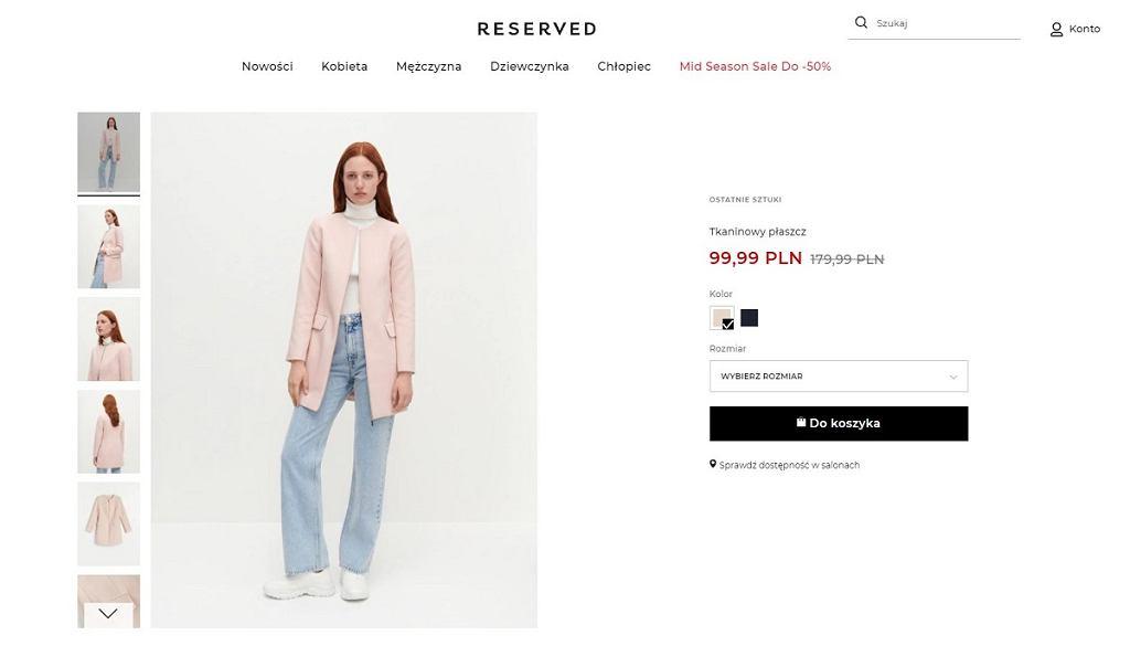 Płaszcz w wersji różowej - ten kolor będzie królować na ulicach w tym sezonie!