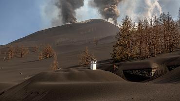 Wulkan Cumbre Vieja na La Palmie