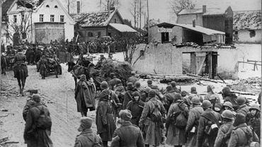 Amia Czerwona na froncie wschodnim, styczeń 1945