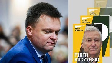 Szymon Hołownia ogłosił, że jednym z jego doradców będzie Piotr Kuczyński