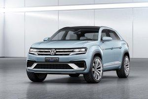Salon Detroit 2015 | Volkswagen Cross Coupe GTE | Kolejny SUV