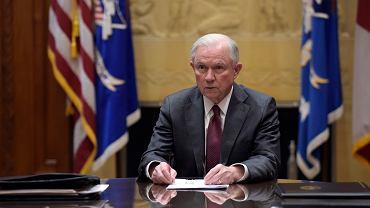 Minister sprawiedliwości i prokurator generalny USA Jeff Sessions