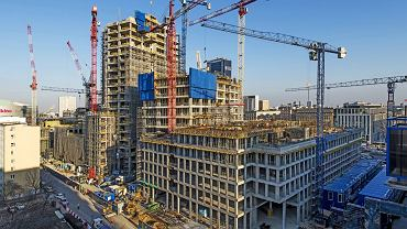 Varso Place rośnie w oczach. Projekt z najwyższym budynkiem w Polsce i UE otrzymał rekordowy w historii polskiego rynku budowlanego kredyt