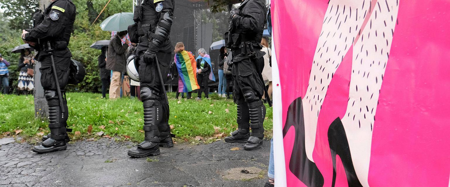 Marsz Równości w Poznaniu (fot. Piotr Skórnicki / Agencja Gazeta)