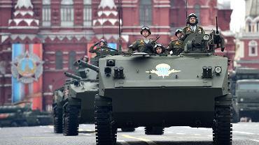 Parada wojskowa z okazji Dnia Zwycięstwa, Moskwa, 9 maja 2017.