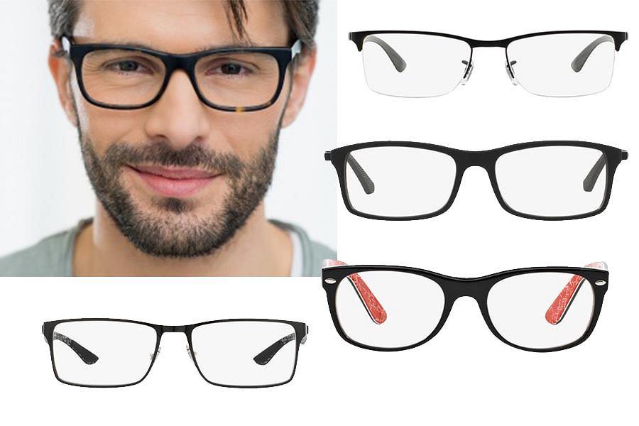 Okulary o klasycznym kształcie