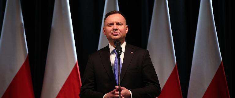 Duda na konwencji chwali się wizytami w Polsce: Prezydent jest przy nich