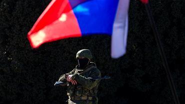 """Siły samoobrony"" (wg. Putina) na Krymie"