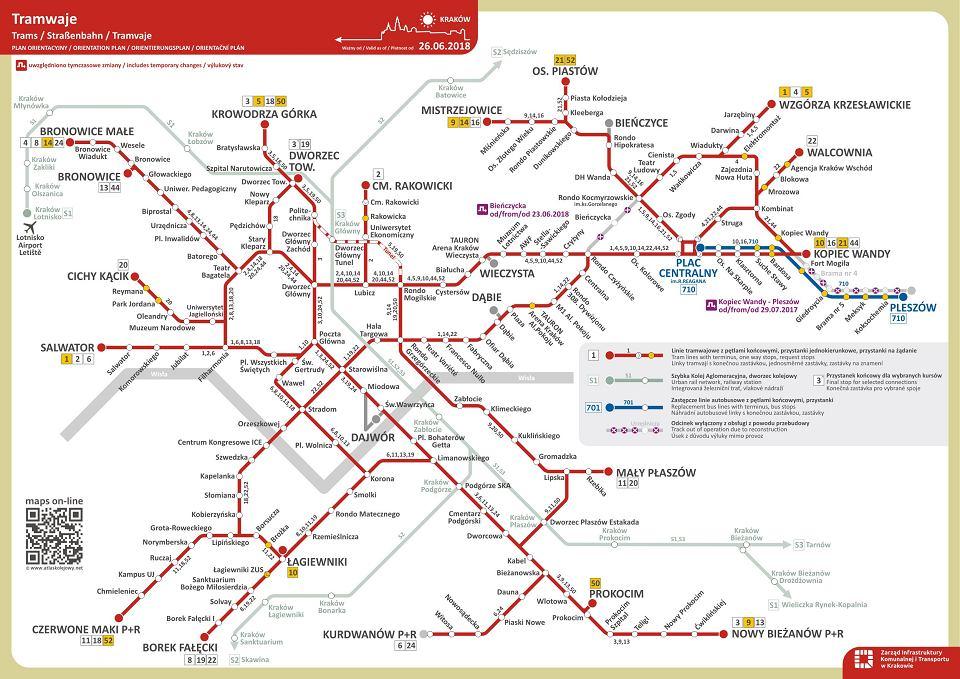 Tramwaje I Autobusy Rozklad Wakacyjny Mapa