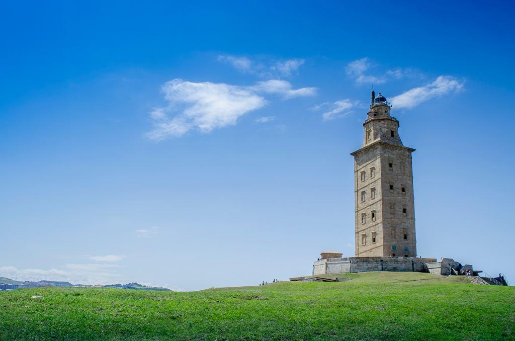 Wieża Herkulesa, A Coruna, Hiszpania