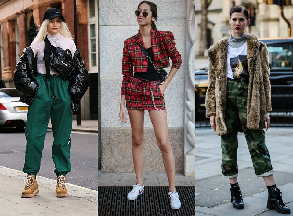 streetwearowe stylizacje
