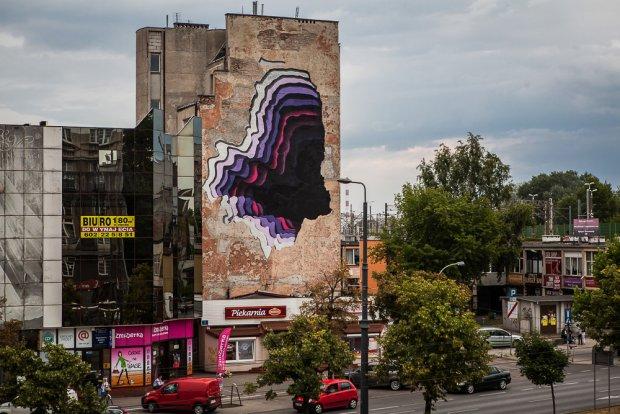 Warszawa, Street Art Doping, artysta 1010