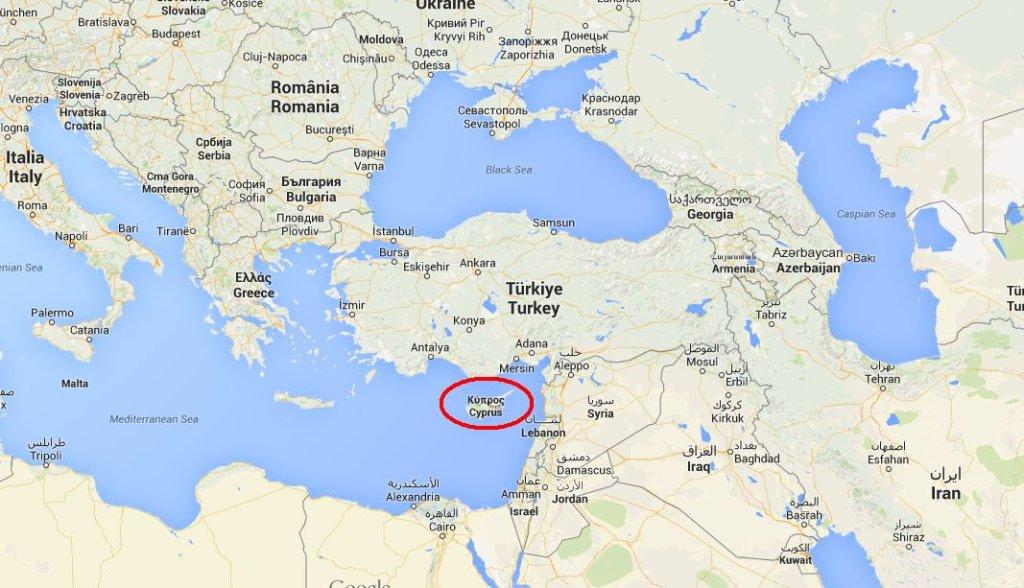 Cypr ma strategiczne położenie na Morzu Śródziemnym