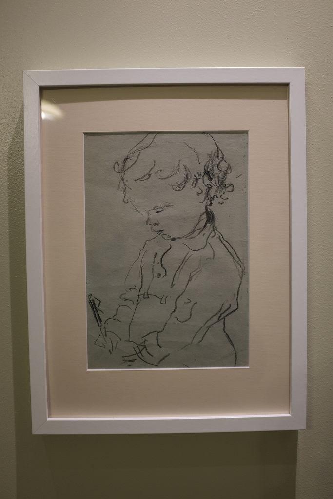 W Muzeum Plastycznym w Supraślu oglądać można wystawę rysunków, szkiców, obrazów olejnych i akwareli z czasów licealnych Leona Tarasewicza