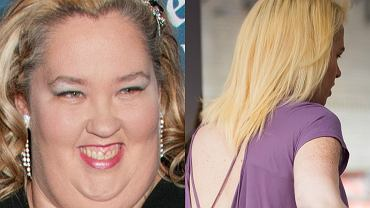 Mama June schudła już w sumie ponad 130 kilogramów. Wszyscy spodziewali się, że celebrytkę dopadnie zaraz efekt jojo, a tu zaskoczenie! Jej najnowsze zdjęcia pokazują, że kobieta nie spoczęła na laurach, a jej waga wciąż spada. Mama June zmieniła się nie do poznania! Zobaczcie, jak wygląda teraz i jak spektakularną przeszła metamorfozę.