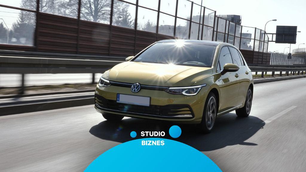 Nowy Volkswagen Golf w Studiu Biznes