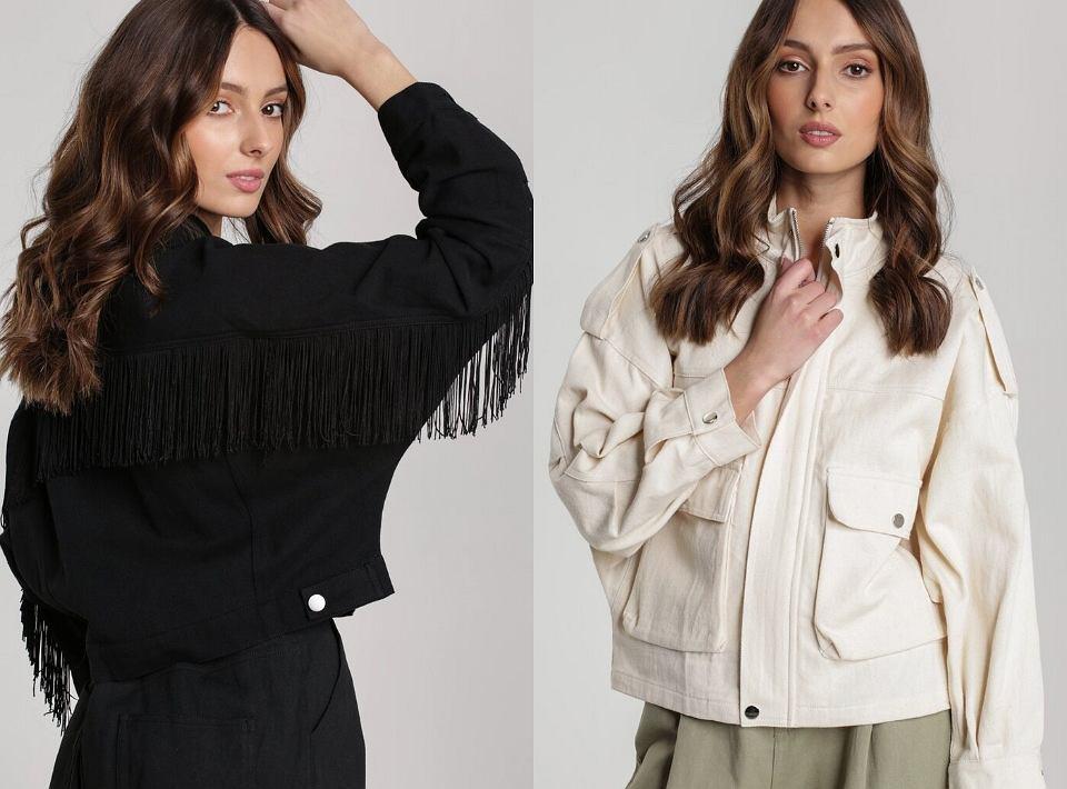 Na wiosnę sprawdzi się nie tylko płaszcz, ale także modna kurtka