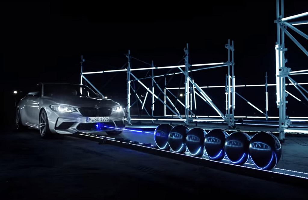 BMW M2 Competition w akcji