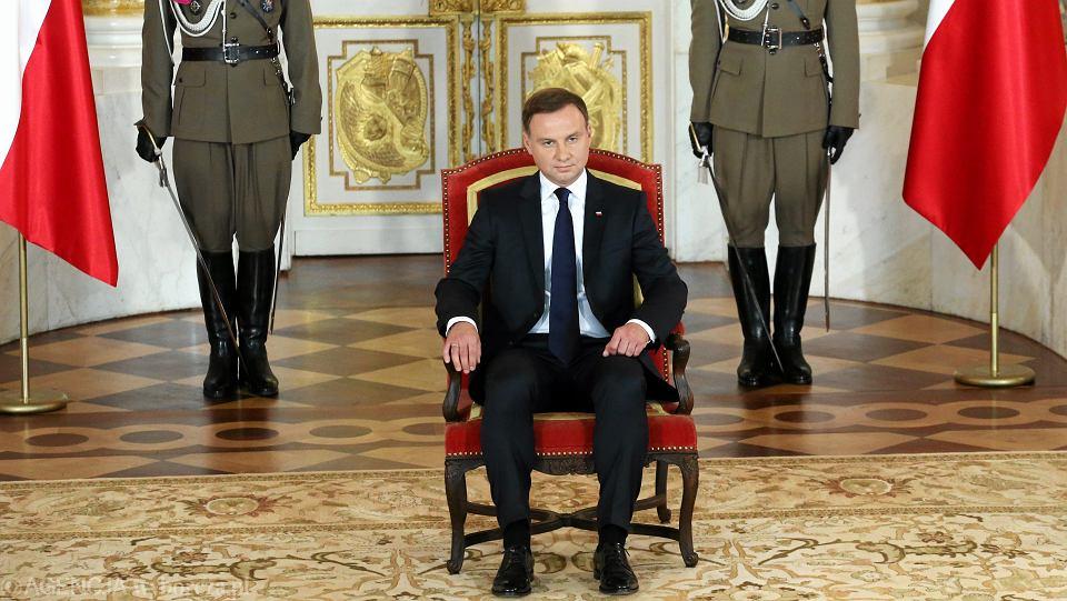 Zdjęcie numer 3 w galerii - Andrzej Duda zapisał się do jastrzębi