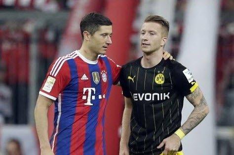 Robert Lewandowski i Marco Reus