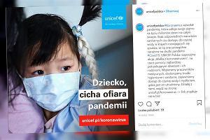 Dzieci są cichymi ofiarami pandemii. UNICEF Polska apeluje o pomoc