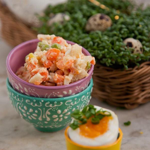 Przepisy na wielkanocne dania z jajkiem dla dzieci.
