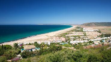 Plaża w Zahara de los Atunes.