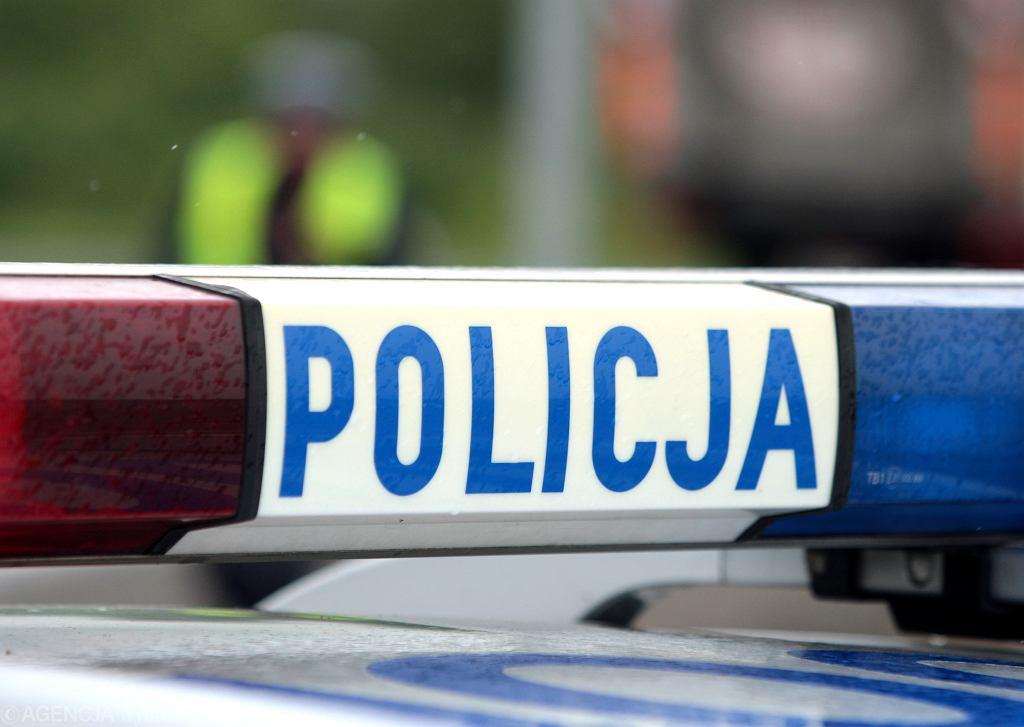 Policja ( zdjęcie ilustracyjne )