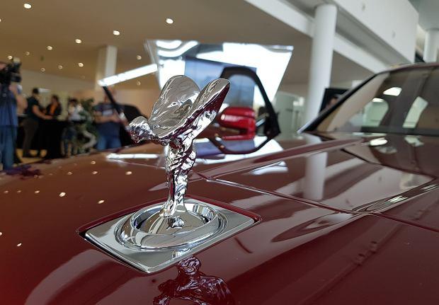 Polska premiera Rolls-Royce'a Cullinana w Warszawie