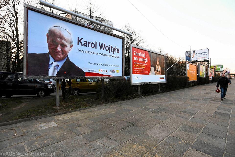 Zdjęcie numer 2 w galerii - Samorządowa instytucja zachęca: Wybierz Karola Wojtyłę i idź śmiało naprzód!