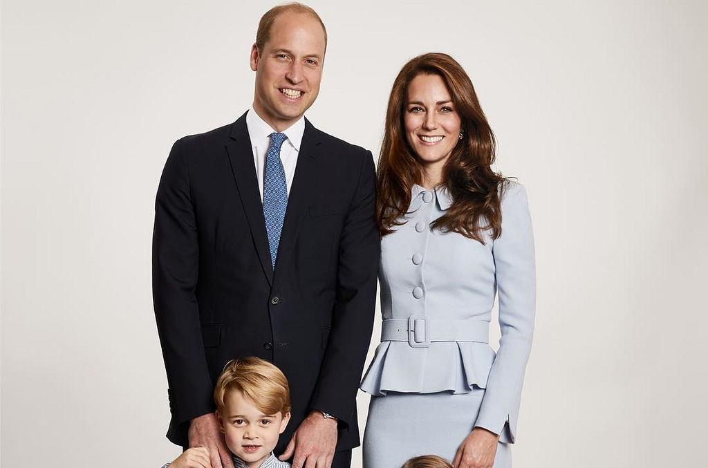 Kate i William w świątecznej sesji