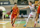 Koszykówka kobiet: Wisła zbyt silna, Ślęza nie zagra o złoto