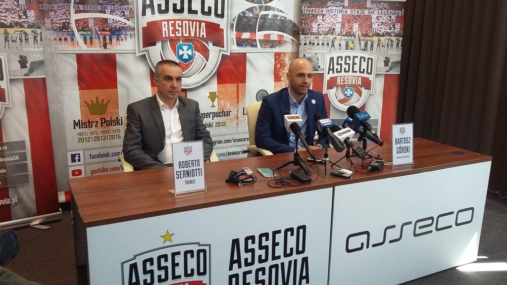 Nowy trener Asseco Resovii, Roberto Serniotti