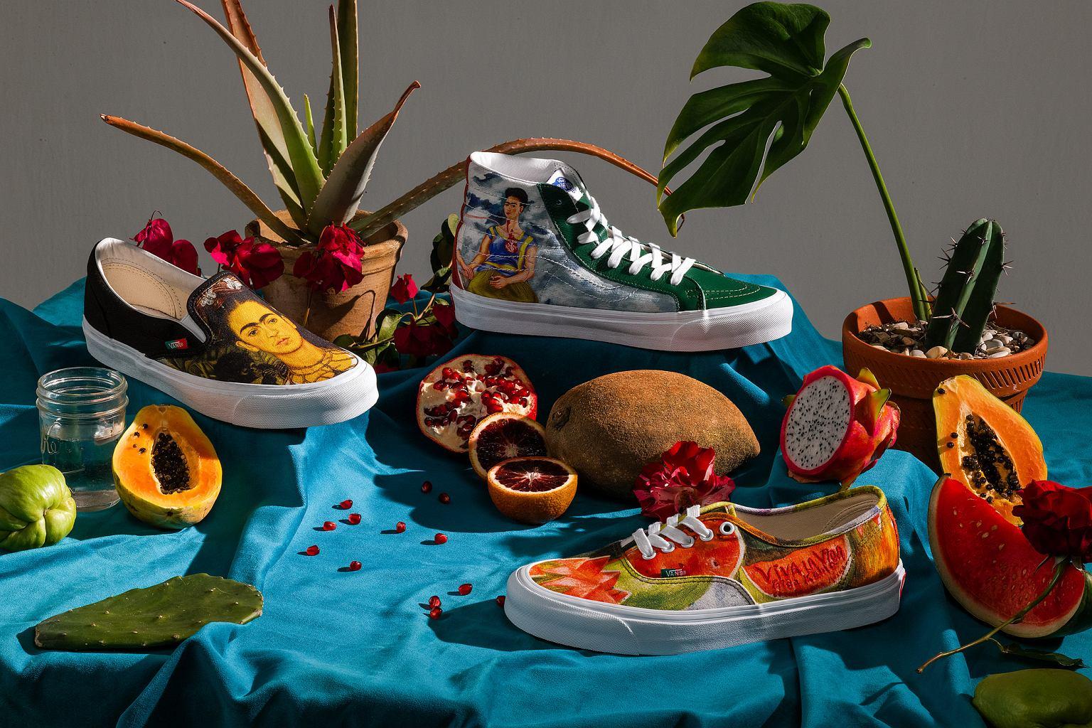 Vans x Frida Kahlo: wyjątkowa kolekcja butów w hołdzie