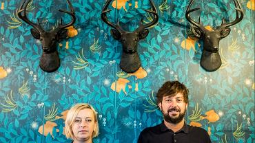 na zdjęciu inicjatorzy kulinarnego kolektywu: Kasia Rogowska i Przemek Błaszczyk