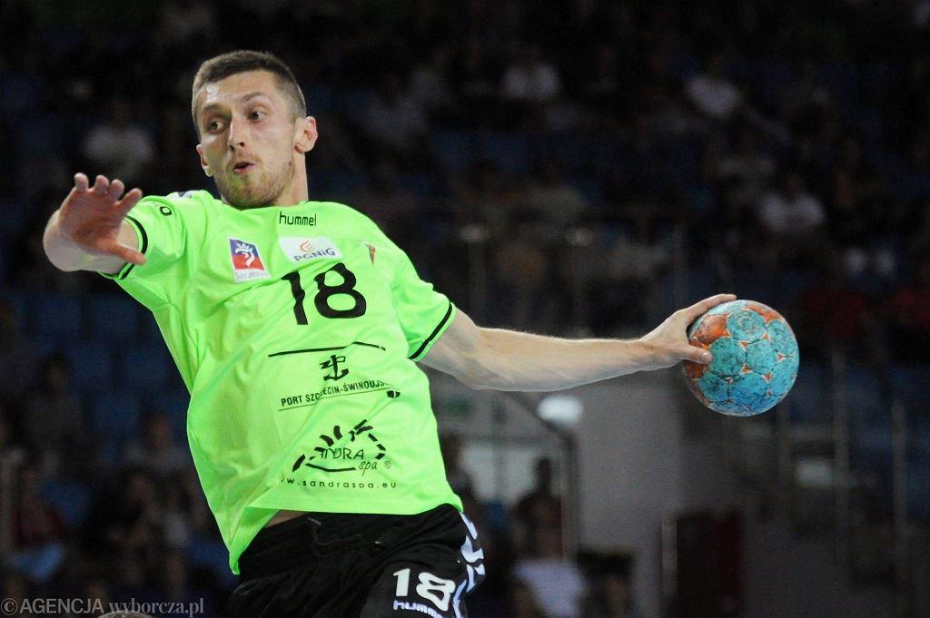Wojciech Jedziniak z Pogoni Handball Szczecin