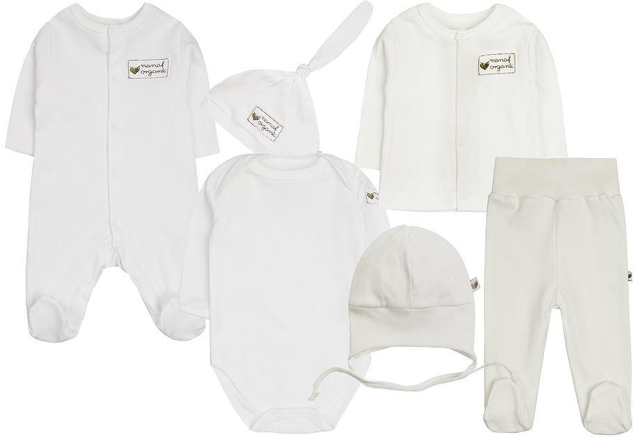 Białe ubranka dziecięce
