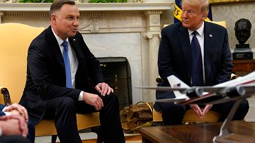 Wizyta Prezydenta Andrzeja Dudy w Białym Domu, 24.06.2020