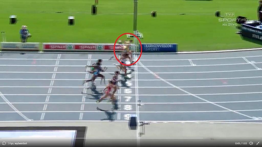 DME: Pia Skrzyszowska sprawiła sensację i wygrała bieg na 100 metrów