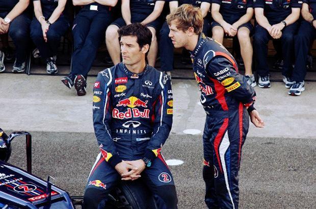 Mark Webber i Sebastian Vettel