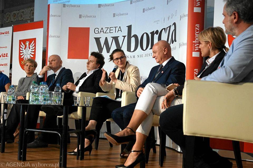 Panel drugi - dyskusja o wykorzystaniu potencjału Wisły