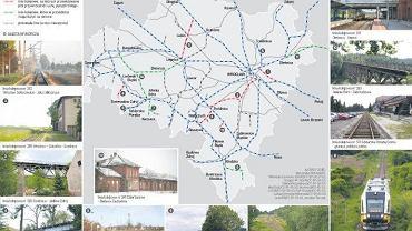Odradza się wiele połączeń kolejowych. Dzięki  milionom z UE [MAPA]