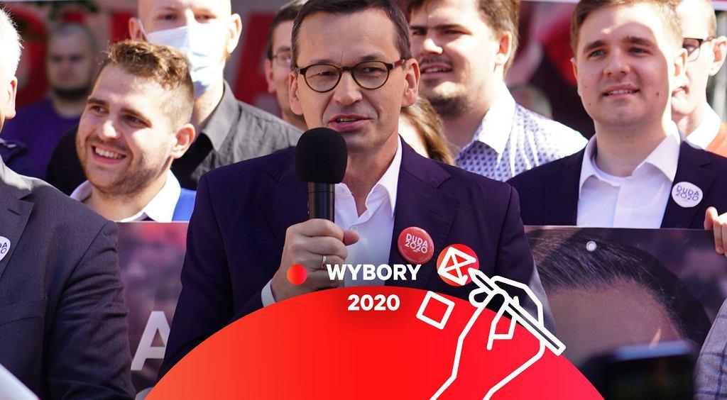 Mateusz Morawiecki/ wybory 2020.