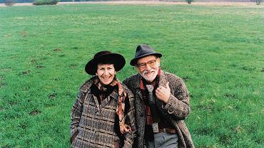 Joanna i Jan Kulmowie w Strumianach, 2000 r.