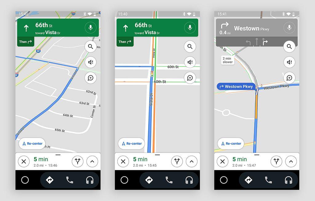 Google wprowadza funkcję sygnalizacji świetlnej w mapach