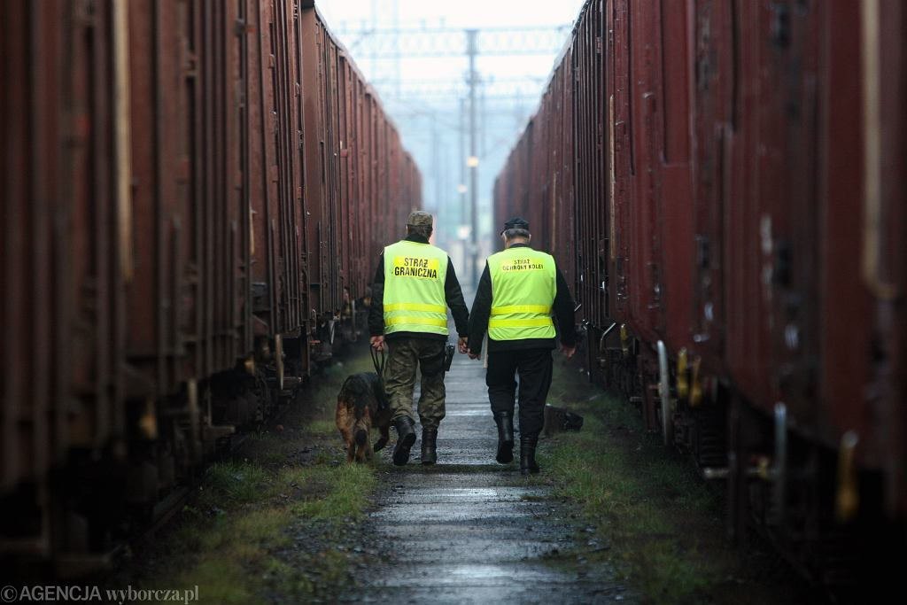 Terespol. Nieznana osoba wtargnęła do urządzenia rentgenowskiego służącego do kontroli wagonów kolejowych. Zdjęcie ilustracyjne