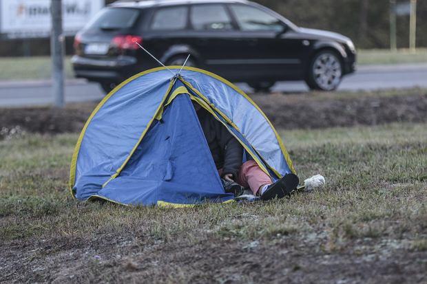 Rozbić namiot