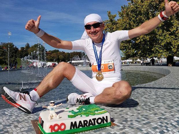Pokonał 100 maratonów i zaliczył wszystkie stolice Europy na królewskim dystansie