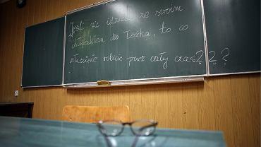lekcja 'Przystosowania do życia w Rodzinie' w VIIL LO w Krakowie. 29 listopada 2006